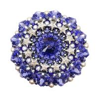 Брошь duCharme Perfection Itself Tanzanite Swarovski